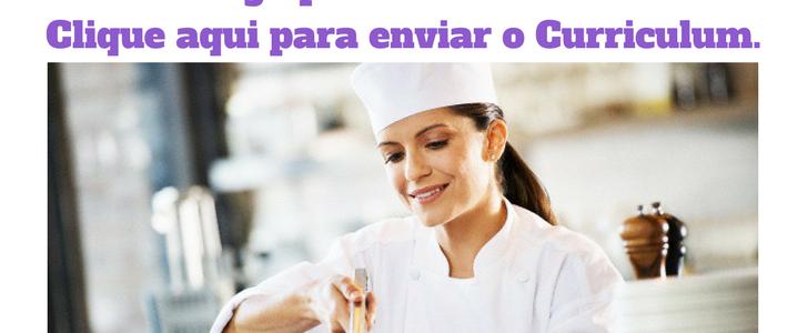 Vaga ra Cozinheiro R$ 1.400,00