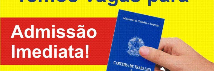 Empregos para Curitiba e Região 10-10-2017