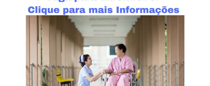 Vaga para Enfermeiro