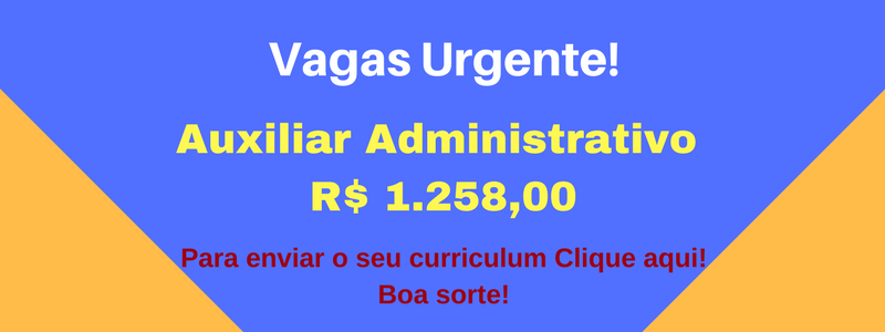 VAGA Auxiliar Administrativo
