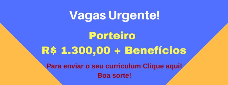 VAGA Porteiro
