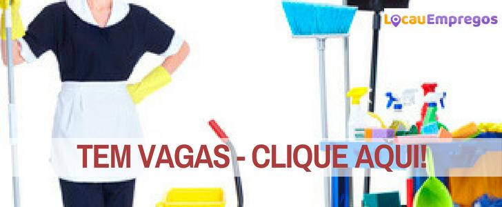 Vaga para Auxiliar de Limpeza