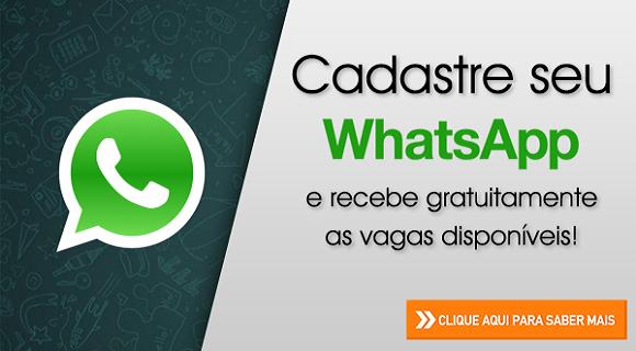 Grupos de emprego no WhatsApp
